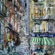 Naples Kiosk Art Print