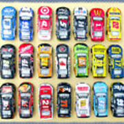 Nascar Collection Art Print