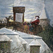 Nast: Santa Claus Art Print by Granger