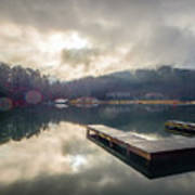 Nature Views Near Chimney Rock And Lake Lure Art Print