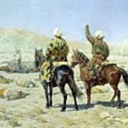 negotiators Surrender - Go to hell 1873 Vasily Vereshchagin Art Print