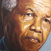 Nelson Mandela Art Print