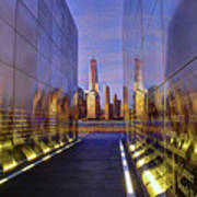 New Jersey Empty Sky 9-11 Memorial Art Print