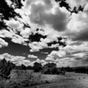 New Mexico Clouds Art Print