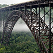 New River Gorge Bridge West Virginia Art Print