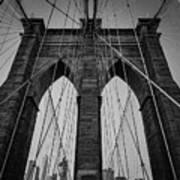 New York City - Brooklyn Bridge Art Print