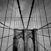 New York City - Brooklyn Bridge Art Print