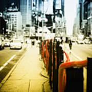 New York Times Square Art Print by Dapixara Art
