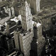 New York Woolworth Building - Vintage Photo Art Print Art Print