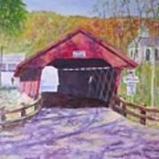 Newfield Bridge Art Print