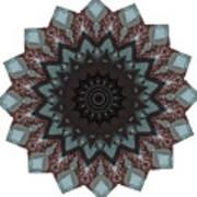 10448 Night Shift Kaleidoscope Art Print