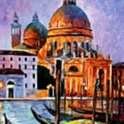 Night Venice Art Print