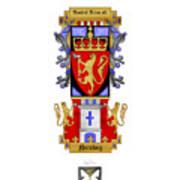 Norskog Coat Of Arms Art Print