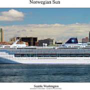 Norwegian Sun Art Print