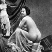 Nude Posing, 1855 Art Print