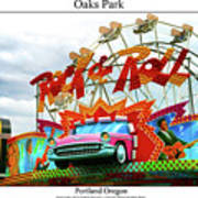 Oaks Park Art Print