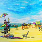 ocean/ Beach Art Print