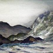 Ocean Emotion Release Art Print