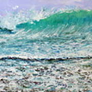 Ocean Surf Art Print