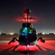 Oh-58d Kiowa Pilots Run Art Print