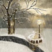 Oh Let It Snow Let It Snow Art Print