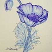 Oh Poppy Art Print