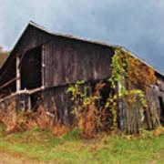 Ohio Barn In The Fall Art Print