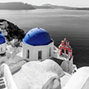 Oia, Santorini / Greece Art Print