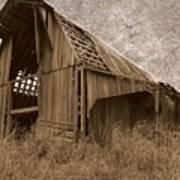 #210 Old Barn Art Print