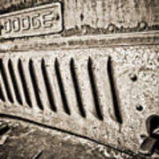 Old Dodge Grille Art Print