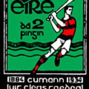 old Irish postage stamp Art Print