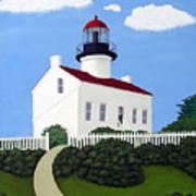 Old Point Loma Lighthouse Art Print
