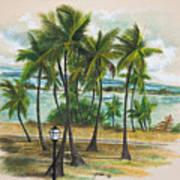 Old San Juan - Morro Art Print