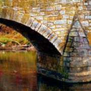 Old Stone Bridge Art Print