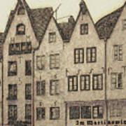 Old Town Of Cologne Art Print