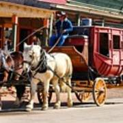 Old Tucson Stagecoach Art Print