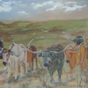 On The Chisholm Trail Art Print