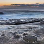 On The Ledge - Sunrise Seascape Art Print