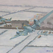 Operation Jericho  Art Print by Murray McLeod