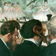 Orchestra Musicians  Art Print