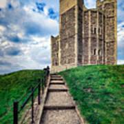 Orford Castle Art Print