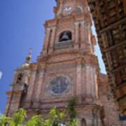 Our Lady Of Guadalope, Puerto Vallareta Art Print