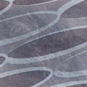 Ovals Pattern Texture Background Art Print