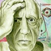 Pablo Piccaso Art Print
