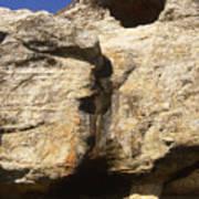 Painted Rock Art Print