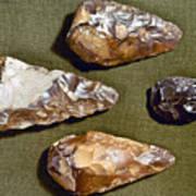 Paleolithic Tools Art Print