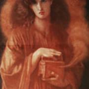 Pandora Art Print by Dante Charles Gabriel Rossetti