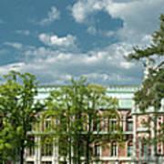 Panorama Of The Museum-estate Tsaritsyno Art Print