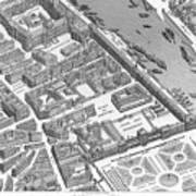 Paris 1730 Art Print