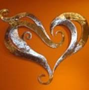 Passion Hearts Art Print